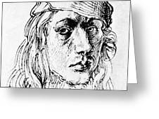 Self Portrait 1493  Greeting Card