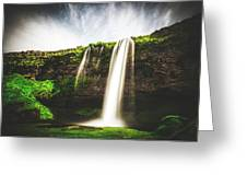 Seljalandfoss - Iceland Greeting Card