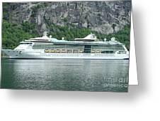Serenade Of The Seas Greeting Card