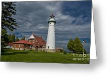 Seul Choix Lighthouse Greeting Card