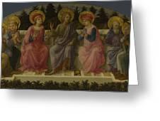 Seven Saints Greeting Card