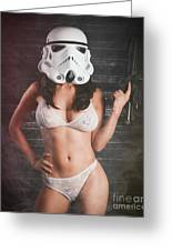 Sexy Trooper Greeting Card