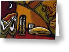 Shabbat Shalom Greeting Card
