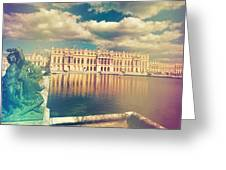 Shabby Chic Versailles Palace Gardens Greeting Card