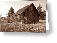 Shack At Stoney Point Greeting Card
