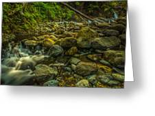 Shackleford Falls Greeting Card