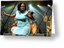 Sharon Jones And The Dap-kings Collection Greeting Card