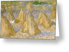 Sheaves Of Wheat Greeting Card