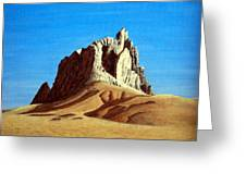Ship Rock Greeting Card
