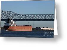 Shipping - New Orleans Louisiana Greeting Card