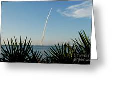 Shuttle Launch Greeting Card