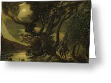 Siegfried And The Rhine Maidens Greeting Card