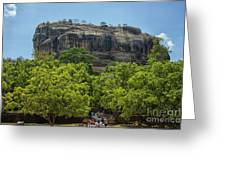 Sigiriya Rock Greeting Card