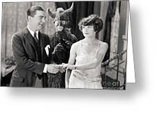 Silent Still: Couples Greeting Card