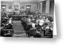 Silent Still: Courtroom Greeting Card