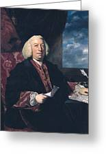 Sir James Hodges Greeting Card