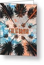 Skies Of California Greeting Card