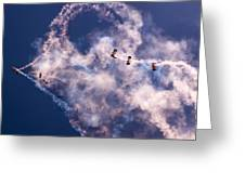 Sky Surfing Greeting Card