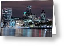 Skyline Of London Greeting Card