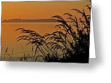 Sleeping Giant Sunrise Greeting Card