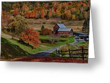 Sleepy Hollow Farm Greeting Card