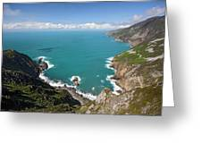 Slieve League Donegal Ireland Greeting Card
