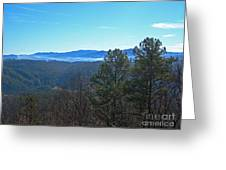Smokey Mountains Greeting Card