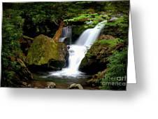 Smoky Mountain Falls Greeting Card