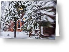 Snow... Greeting Card