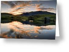 Snowdon Sunrise Greeting Card