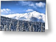 Snowmass Greeting Card