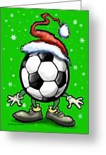 Soccer Christmas Greeting Card