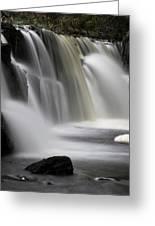 Soft Clare Glen's Waterfall Ireland Greeting Card