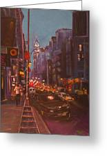 Soho Artistic Dreams Greeting Card