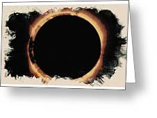 Solar Eclipse 2017 3 Greeting Card