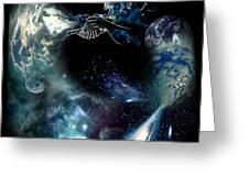 Song Of The Universe Greeting Card