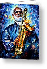 Sonny Rollins Greeting Card