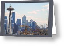 Space Needle 6 Greeting Card