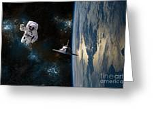 Space Rescue Greeting Card