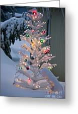 Sparkly Tree Greeting Card