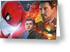Spider-man Homecoming Greeting Card