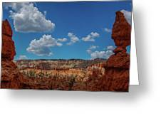 Spires Of Bryce Canyon Greeting Card