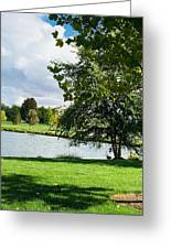 Spring At The Park Greeting Card