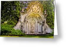 Spring Grove Mausoleum Greeting Card