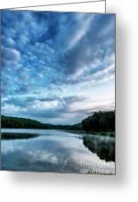Spring Morning On The Lake Greeting Card
