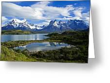 Springtime In Patagonia Greeting Card