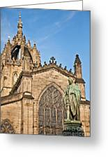 St Giles Cathedral  Edinburgh Greeting Card