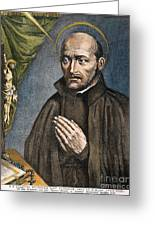 St. Ignatius Of Loyola Greeting Card
