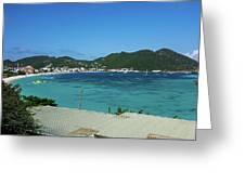 St. Marrten Caribbean Island Greeting Card