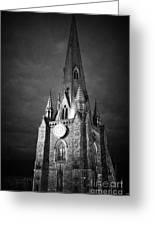 St Martin Church In The Bullring Birmingham England Uk Greeting Card